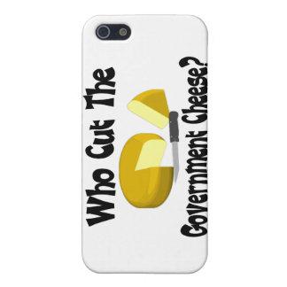 Wer den Regierungs-Käse schnitt iPhone 5 Case