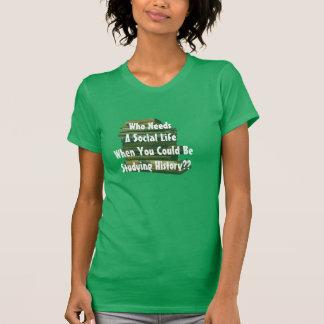 Wer ein Sozialleben benötigt, als Sie studieren T-Shirt