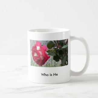 Wer er ist, suchen Sie sein Gesicht u. ihn… aus Kaffeetasse