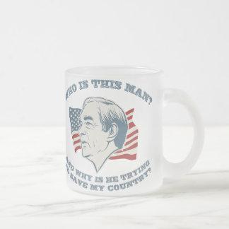 Wer ist dieser Mann? Tasse