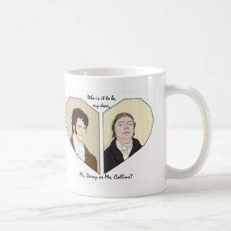 Wer ist es, zum zu sein, mein liebes? kaffeetasse