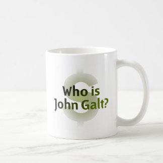 Wer ist John Galt? Geld-Symbol Kaffeetassen