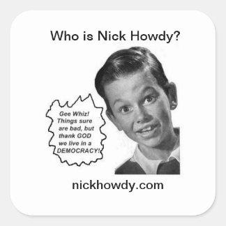 Wer ist Nick grüß dich? (Aufkleber)