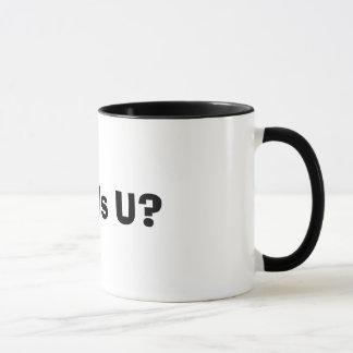 Wer Sie Kaffee-Tasse ist Tasse