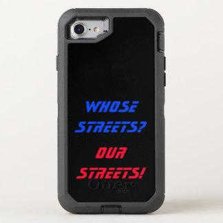 Wer Straßen? Unsere Straßen! Telefon-Kasten OtterBox Defender iPhone 8/7 Hülle