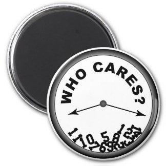 Wer Uhr - Magneten sich interessiert Runder Magnet 5,1 Cm