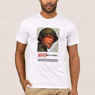 Wer will, um zu wissen? T-Shirt