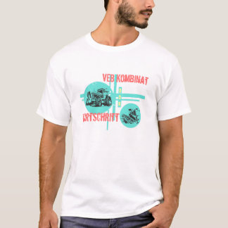 Werbedesign Fortschritt DDR T-Shirt