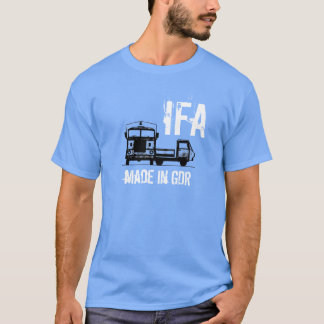 Werbedesign IFA DDR T-Shirt