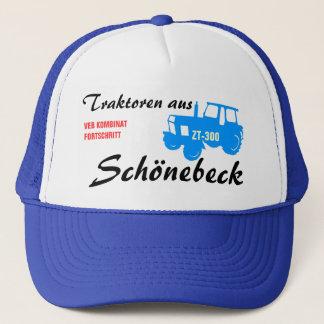 Werbedesign Kombinat Fortschritt DDR Truckerkappe