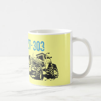 Werbedesign Traktoren DDR Kaffeetasse