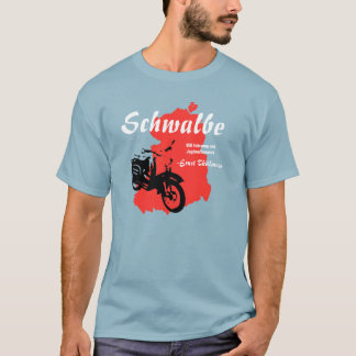 Werbegrafik DDR  Simson Schwalbe T-Shirt