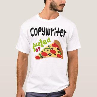 Werbetexter-(lustiges) Pizza-T-Shirt T-Shirt
