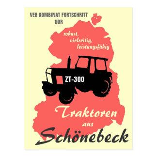 Werbung DDR Kombinat Fortschritt Postkarte