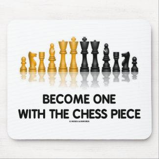 Werden ein mit dem Schach-Stück (reflektierendes Mousepads