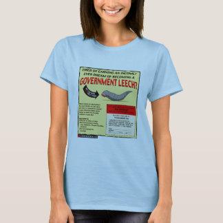 Werden ein Regierungs-Blutegel T-Shirt