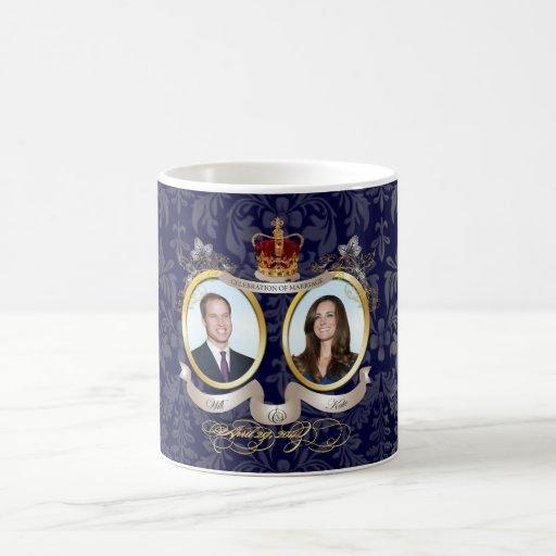 Werden es tun Sie+Kate Hochzeit, DIY Farbe!! Tee Tasse