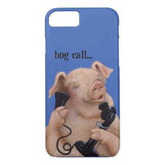 """Werden Sie Bullas anrufen Abdeckung """"Schweinanruf… iPhone 8/7 Hülle"""