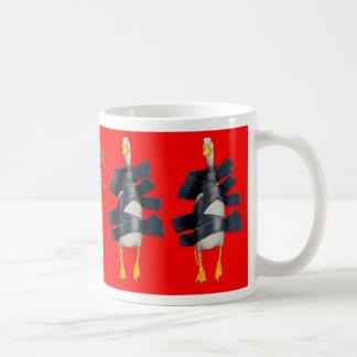 """Werden Sie Bullas-Tasse """"Entenband… """" Kaffeetasse"""