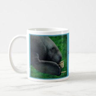 """Werden Sie Bullas-Tasse """"manatea… """" Kaffeetasse"""