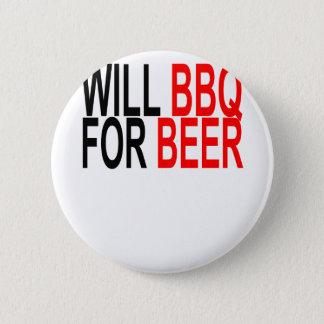 Werden Sie GRILLEN für Bier. Runder Button 5,1 Cm
