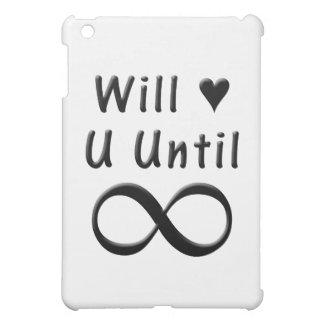 Werden Sie Liebe Sie bis Unendlichkeit iPad Mini Hülle