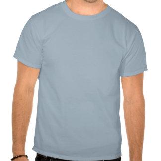 """""""Werden Sie Schlitten für Nahrung"""" blauer T-shirt"""