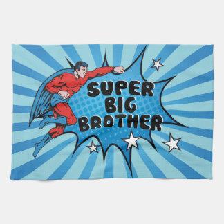 Werdener Superheld ein großer Bruder Küchentuch