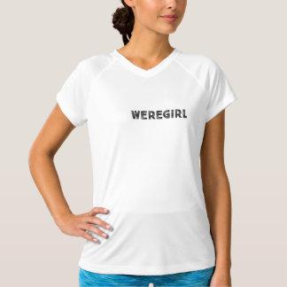 Weregirl Sport-Shirt T-Shirt