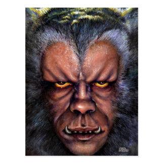 Werewolf-Fluch Postkarte