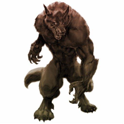 """Werewolf"" PhotoSculpture/geschnittenes Heraus Fotoskulpturen"
