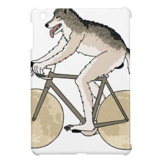 Werewolf-Reitfahrrad mit Vollmond-Rädern iPad Mini Hülle