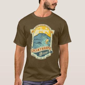 Werewolfflaschenaufkleber T-Shirt