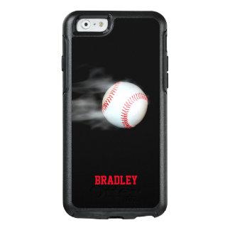 Werfen Sie den personalisierten Ball-Baseball OtterBox iPhone 6/6s Hülle