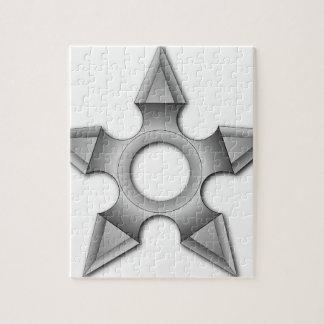 Werfender Stern Puzzle