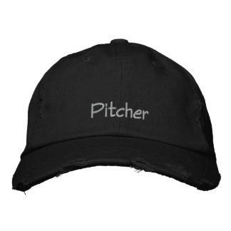 Werfer gestickte Baseballmütze