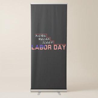 Werktag Ausziehbarer Banner