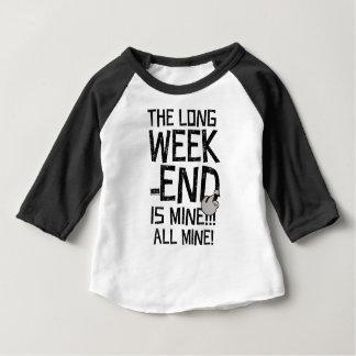 Werktags-langes Wochenende, langes Wochenende Baby T-shirt