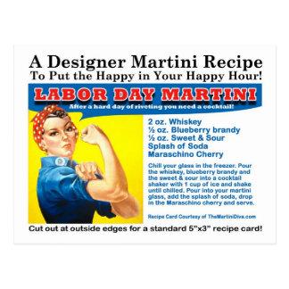 Werktags-Martini-Cocktail-Rezept-Postkarte