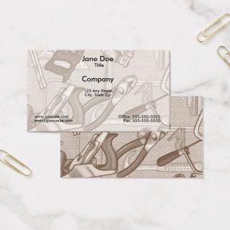Werkzeug-Visitenkarte Visitenkarte