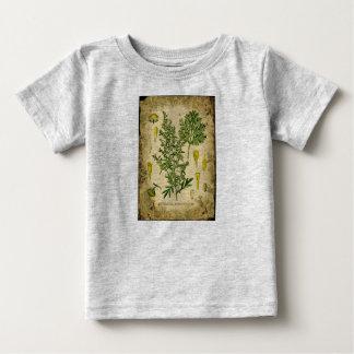 Wermut-botanische Collage Baby T-shirt