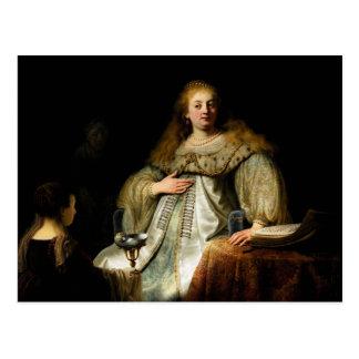 Wermut durch Rembrandt (1634) Postkarte