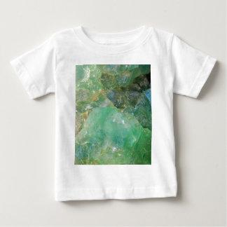 Wermut-grüner Quarz-Kristall Baby T-shirt