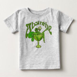 Wermut-Mädchen im Glas Baby T-shirt