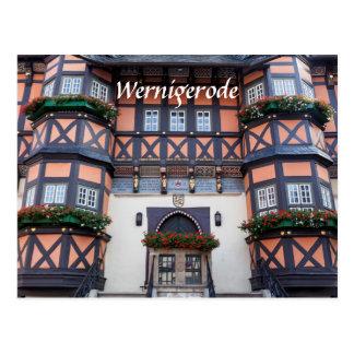 Wernigerode Foto Postkarte
