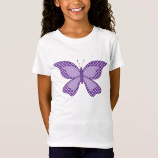 wertvoller Schmetterlings-T - Shirt der Mädchen