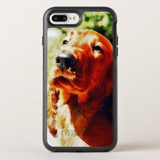 Wertvoller Setter-Welpe OtterBox Symmetry iPhone 8 Plus/7 Plus Hülle