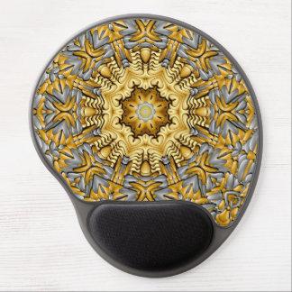Wertvolles MetallVintages Kaleidoskop-Gel Mousepad