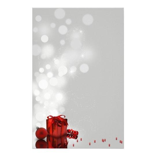 Wertvolles Weihnachtsgeschenk - Briefpapier