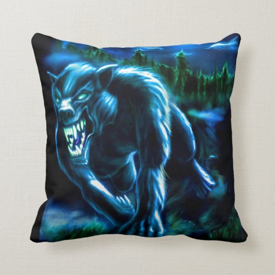 Werwolf Pillow Kissen